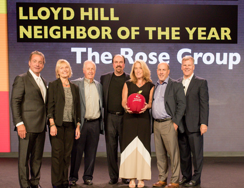 The Rose Group - 2017 Neighbor of the Year